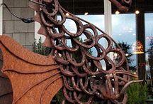 Sculpture welding