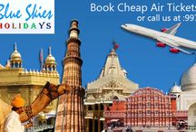 Flight Tickets / Book your flight tickets online at very best rates with Blue Skies Holidays