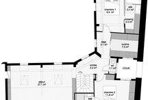 Plans appartements Paris / Studio d'Archi rénivation Architecte Paris