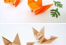 αλεπού από χαρτι
