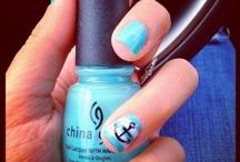 Sail nail art