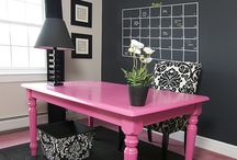 to design.. office / office spacial decor ideas / by Joanna Clayton