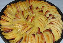 Tepsis baconos sültkrumpli
