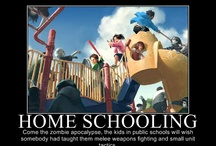 Homeschooling - Or how I may as well talk to the cat all day / by Cindy K
