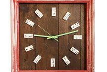 Upcycled Clocks / Our range of home decor clocks, made from up-cycled materials by our team at Period Home Style. We are more than happy to help; if there's something you see but you're unsure if the colour scheme or style is exactly right for you, get in touch and we can make any amendments to suit your style.