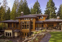 MCD Designed Waterfront Homes / Waterfront properties in Washington State designed and built by MacPherson Construction and Design.