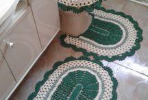 Crochê-Banheiro