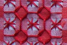chicken scratch embroidery / chicken scratch embroidery