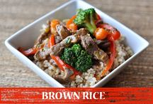 Brown Rice we Eat / Discussing various benefits and recipes of #Brown #Rice. DO you know its Rich in Selenium, High in Manganese, Rich in Naturally-Occurring Oils, Promotes Weight Loss, Considered Whole Grain, Rich in Anti-Oxidants, Slow-Release Sugar, High on FIber, Candida Yeast Infections. Its multinutrient  and good to go. So better try it with go4fresh. Order now!