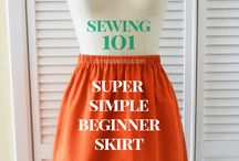 Sewing 101 / Resources for a beginners sewing class