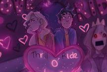 Animated cute couple