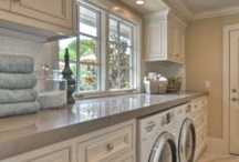 Laundry rooms / by Olivia Lombard