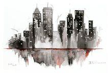 New York Illustrations