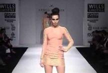 Wills Lifestyle India Fashion Week 2012 / Abdul Halder's Autumn Winter Collection show at Wills Lifestyle India Fashion Week 2012