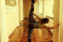 Гимнастические трюки