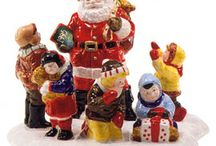 Santa Comes to Town Series - Dept56 / Department 56 - Santa Comes to Town - yearly introduction since 1994. See all of them here