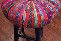 Tuffet Barstools by Dalgleish Clothworks