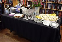 Joanne Fluke Launch Party! / The party we held for Joanne Fluke's latest book, BANANA CREAM PIE MURDER. February 2017.