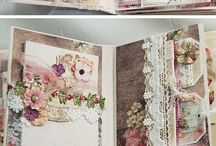 Scrapbook Albums Mini alboums