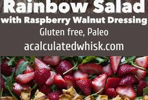 Colorful Nutrition / eat the rainbow! eating colorful food as a way to gently add nutrients to your day