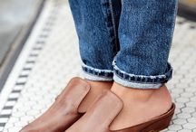 Leather Flats / leather flats, shoes