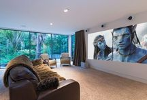 Inspiring Home Cinemas / Game Rooms / Pass the popcorn.