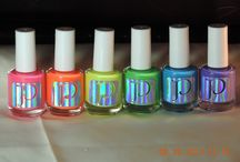 Nail Polish Lacquer Varnish Colours / Colours I like, ideas to make / by Frightfully Spectacular
