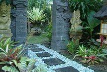 Beautiful bali gardens