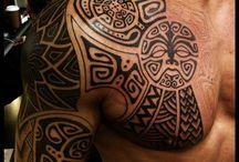 Tattoo polinesiani / Tatuaggi polinesiani