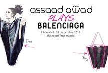 Assaad Awad plays Balenciaga / La Escuela de Arte nº1 colabora con piezas de joyería e ilustraciones del proceso creativo del diseñandor Assaad Awad.
