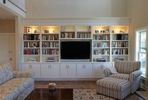 Built Ins / Inspiration for customizing the space to fit your needs.