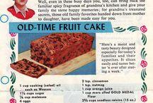 Fruit cake recipes