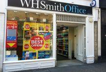 WHSmith Shop Designs & Branding
