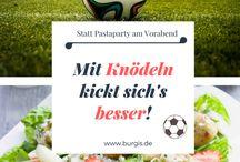 WM Fussball Weltmeisterschaft Rezepte DIY Deko