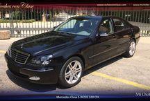 Mercedes Clase S para Bodas en Sevilla / Espectacular Mercedes Clase S W220 para Bodas en Sevilla. Color negro con interior en cuero gris claro