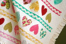 EASY QUILTS - HEARTS / by Pamelita Carmasweeta
