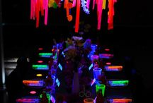 Glow in the dark party ideas for Steph 13 yo ♥