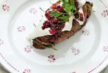 Feestelijke plantaardige gerechten / Plantaardige gerechten voor feestelijke diners.
