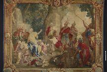 """Exposition: les tapisseries du cardinal de Rohan / Découvrez deux des cinq tapisseries présentées dans l'exposition: """"Les tapisseries du cardinal de Rohan. Un décor princier au XVIIIe siècle"""", à l'hôtel de Soubise (site de Paris) jusqu'au 6 janvier 2014."""