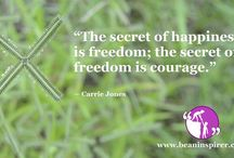 Courage Quotes / Be An Inspirer - Spread the Inspiration Visit - www.beaninspirer.com for more.