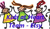 Kids at Heart Team - Etsy / All items posted by Kids at Heart team members.  An Etsy team promoting handmade kids items.  * To be invited: 1. Please follow this board & me (CraftMeCrazy) & fave/follow my Etsy shop (www.etsy.com/shop/craftmecrazy), 2. Please only post Etsy listings, and limit 5 of your personal items per day. 3. Spread the love by repinning teammates items to your groups or boards. 4. No Spamming!    *** Thank You!***