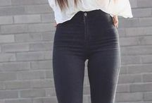 Fashion, outfit ideas, hairstyles