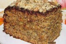 торт медово -маковый