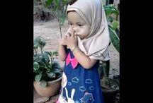 video hijab atau kerudung lucu anak