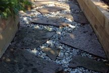 Flagstone: Feature walls, Walkways and Fireplaces
