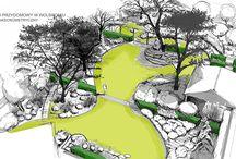 wizualizacje ogród