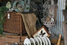Flea market finds and Display Ideas