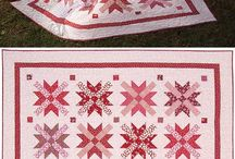 red-white quilt