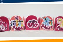 Forminhas tema Little Pony / Forminhas tema Little Pony