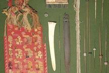 ancient weaving tools